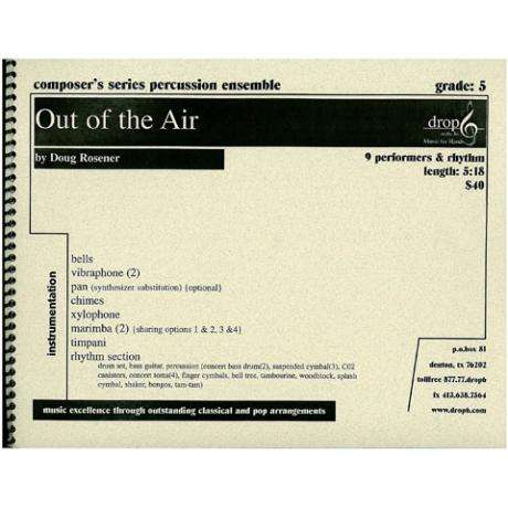 Out of the Air by Doug Rosener