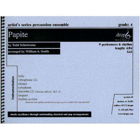 Papite by Todd Schietroma arr. William H. Smith