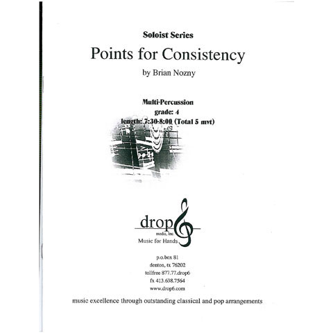 Points for Consistency by Brian Nozny