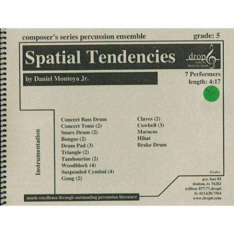 Spatial Tendencies by Daniel Montoya Jr.