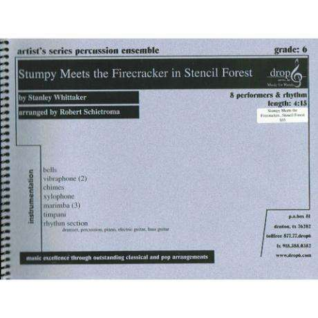 Stumpy Meets the Firecracker in Stencil Forest by Stanley Whittaker arr. Schietroma