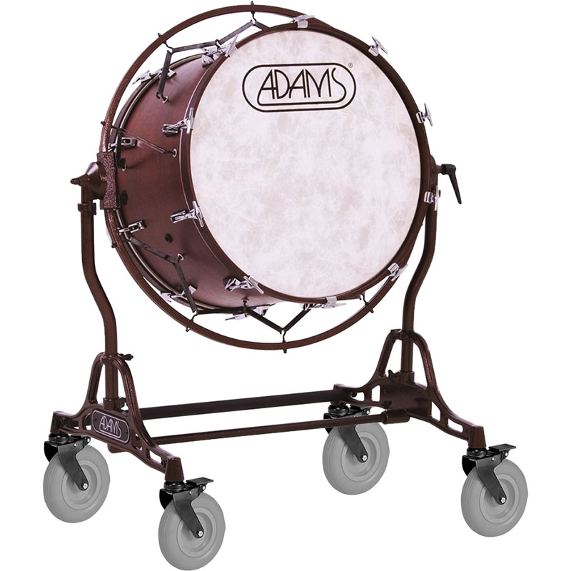 "Adams 2016 Spirit of Atlanta 40"" x 22"" Concert Bass Drum with Field Frame (Used)"