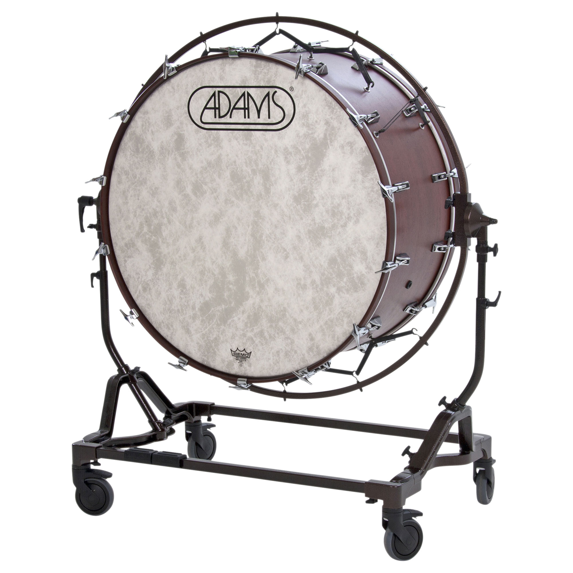 "Adams 36"" (Diameter) x 22"" (Deep) Concert Bass Drum with STBD Suspended Stand"