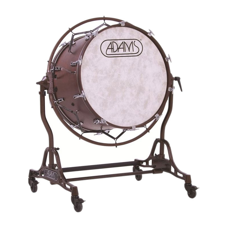 "Adams 40"" (Diameter) X 22"" (Deep) Concert Bass Drum with STBD Suspended Stand"