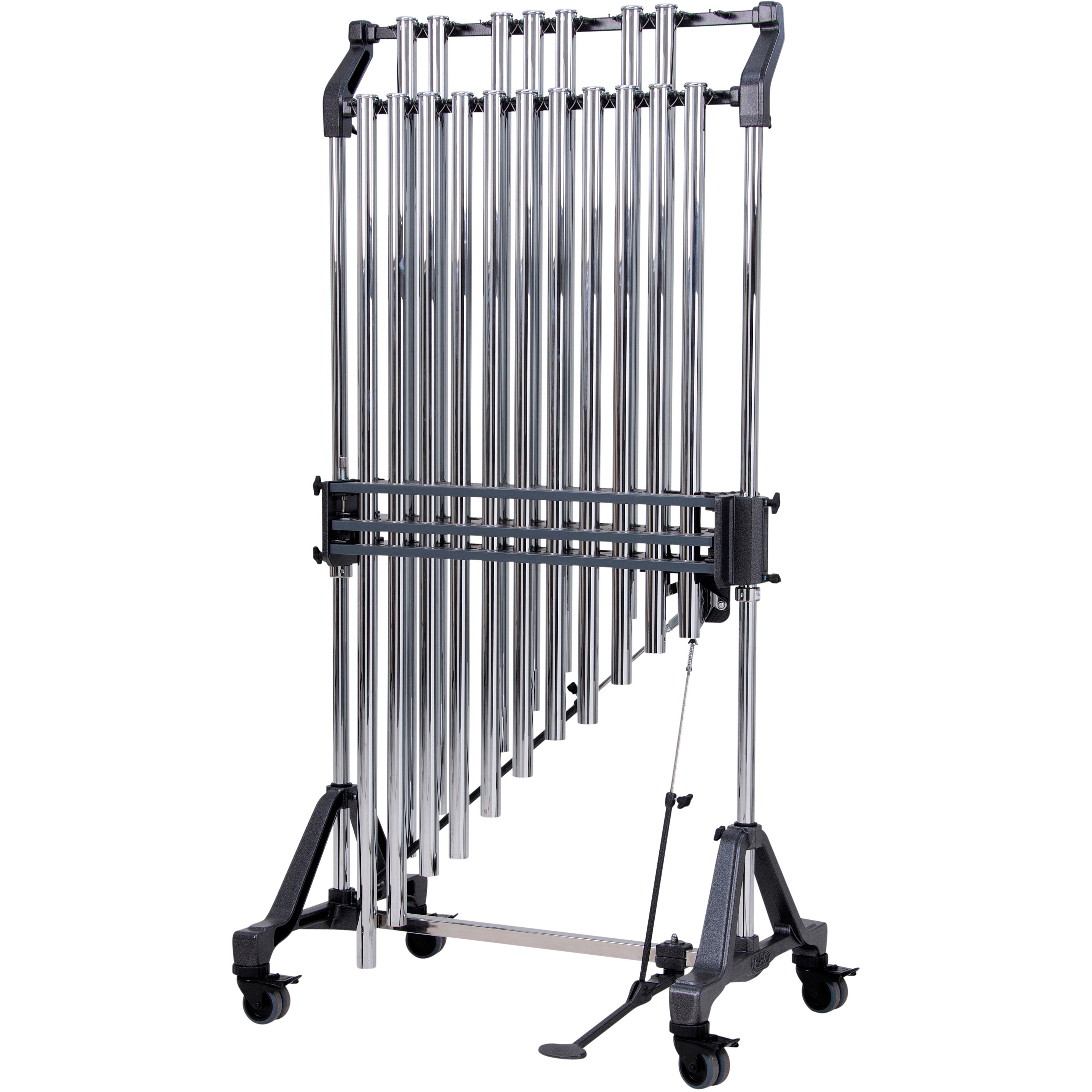 """Adams 1.5 Octave Symphonic 1.5"""" Chimes on Field Frame"""