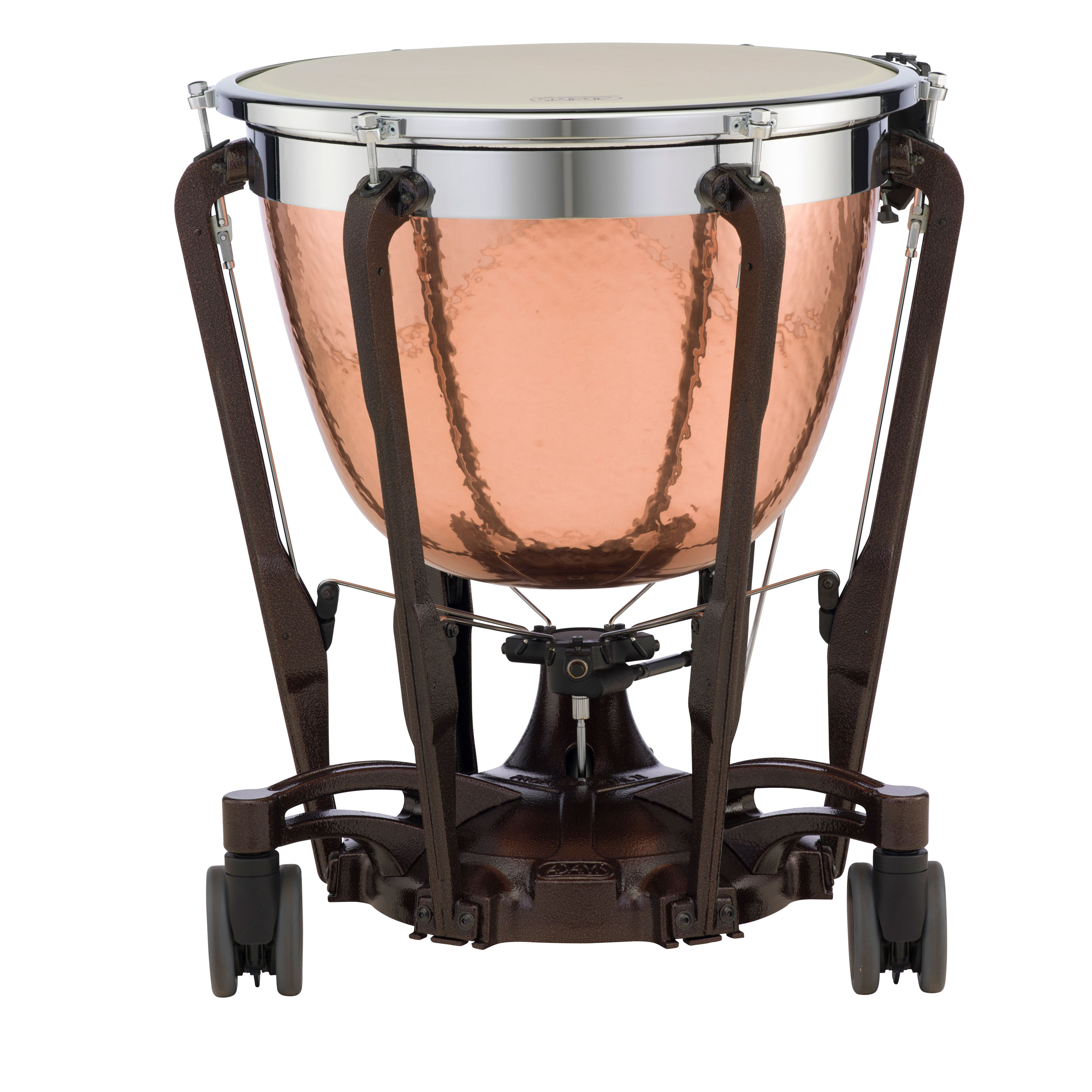 "Adams 23"" Professional Gen II Hammered Cambered Copper Timpani with Fine Tuner"