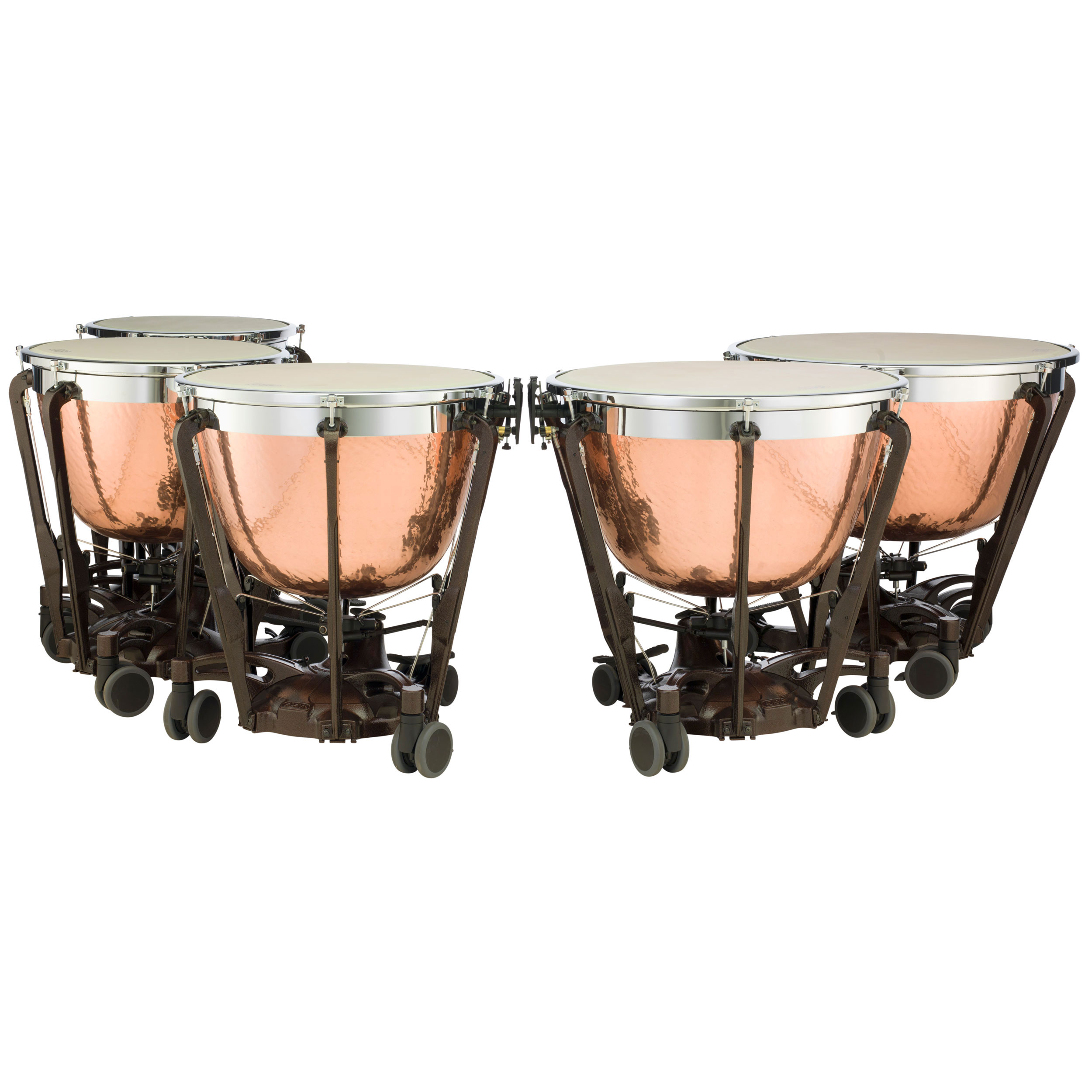 "Adams 20/23/26/29/32"" Professional Gen II Hammered Cambered Copper Timpani"