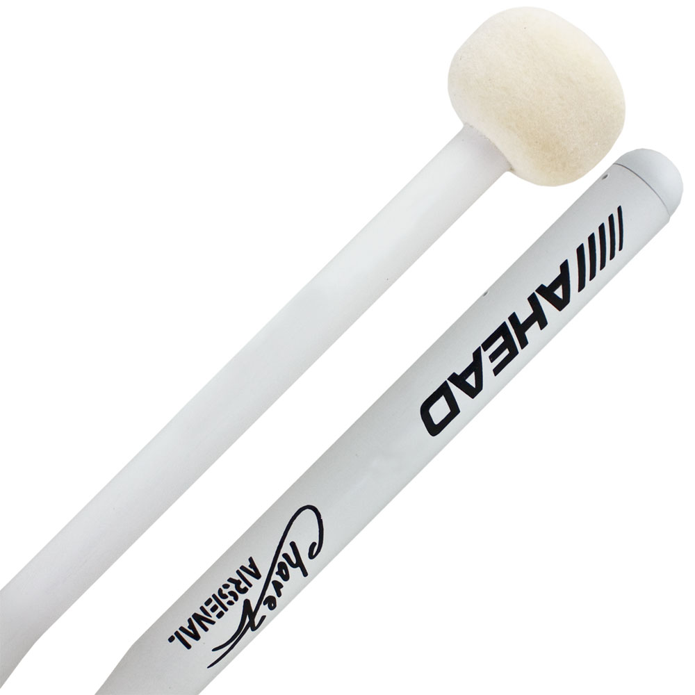 "Ahead ABM2 1.5"" Chavez Arsenal Marching Bass Mallets"