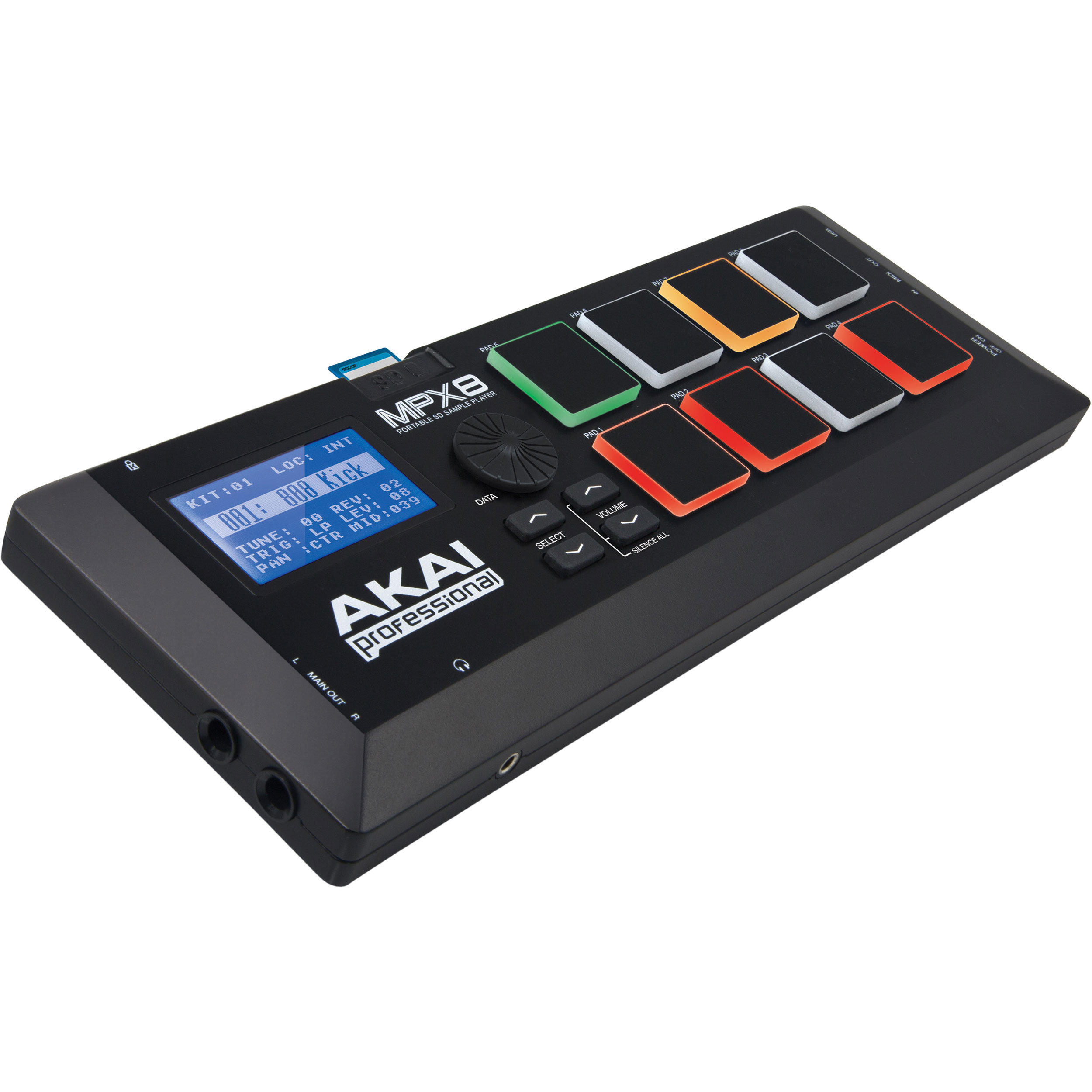 Akai Professional 8-Pad MPX8 Sample Controller