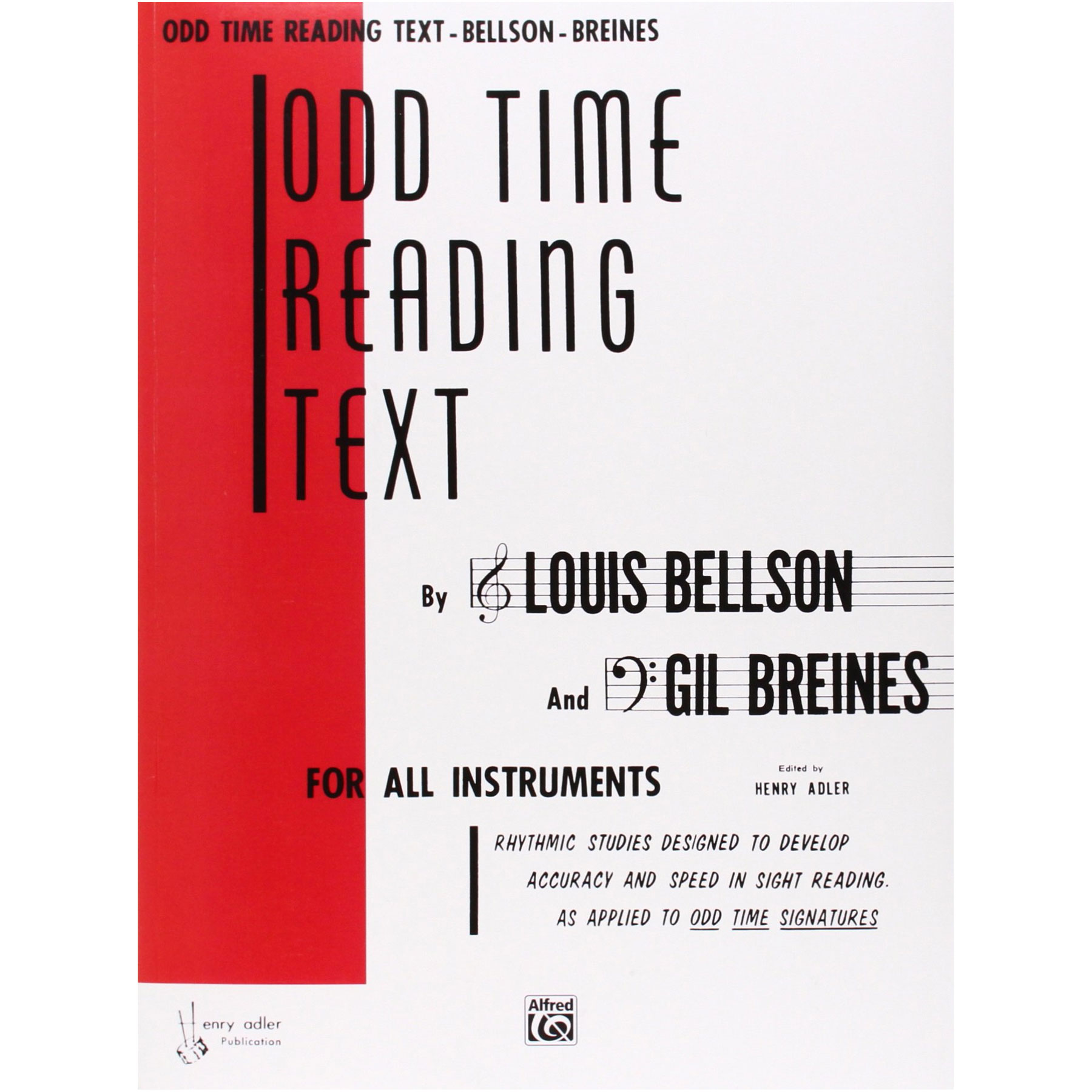 Odd Time Reading Text by Louis Bellson