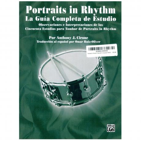 Portraits in Rhythm (Spanish Language Edition) by Anthony Cirone