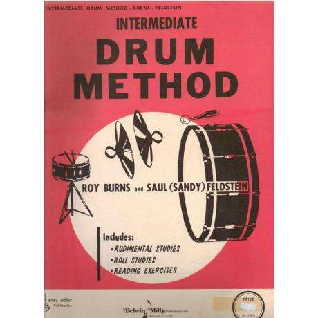 Intermediate Drum Method by Roy Burns and Sandy Feldstein