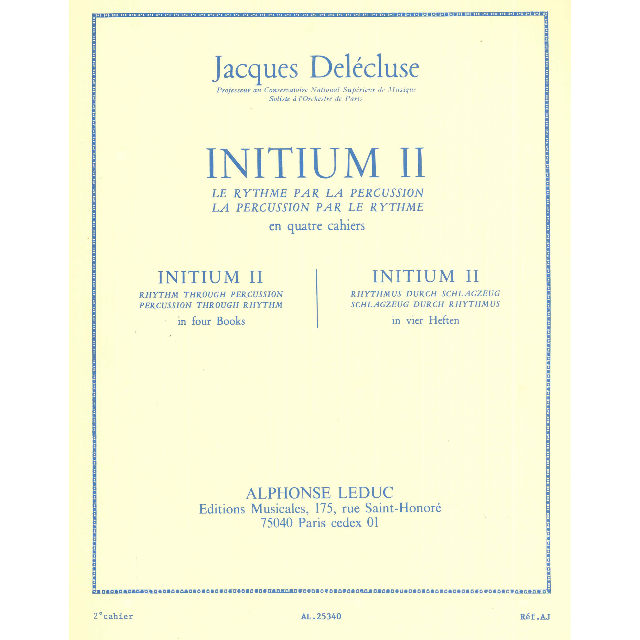 Initium II by Jacques Delecluse