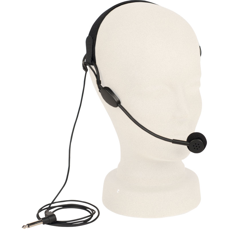 "Anchor Audio Headband Microphone (1/4"" Connector)"