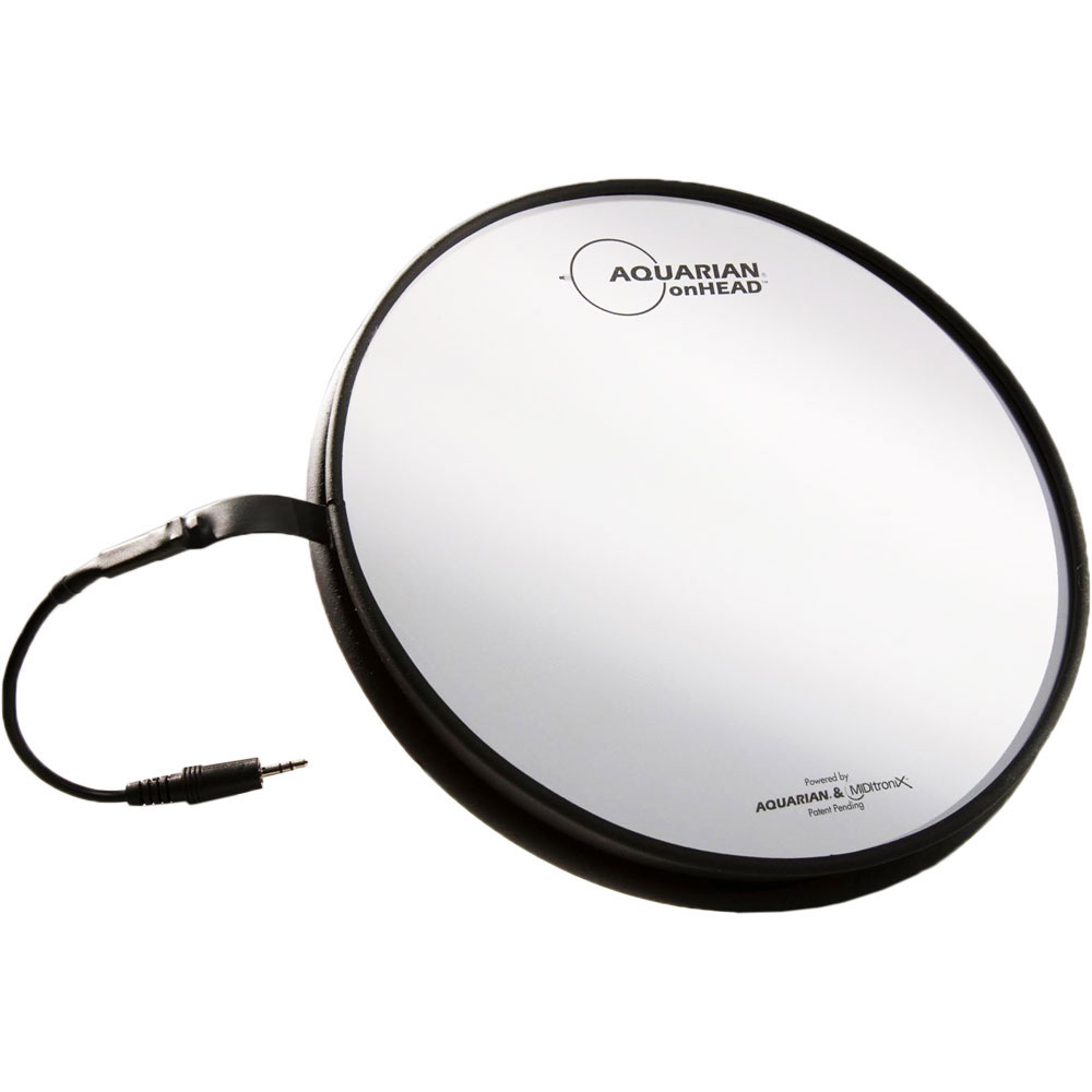 "Aquarian 12"" onHEAD Portable Electronic Drum Surface"