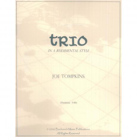 Trio in a Rudimental Style by Joe Tompkins