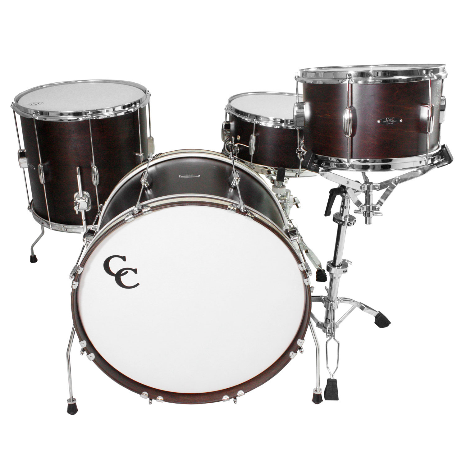 c c drum player date ii big beat 4 piece drum set shell pack 22 bass 14 snare 13 16 toms. Black Bedroom Furniture Sets. Home Design Ideas