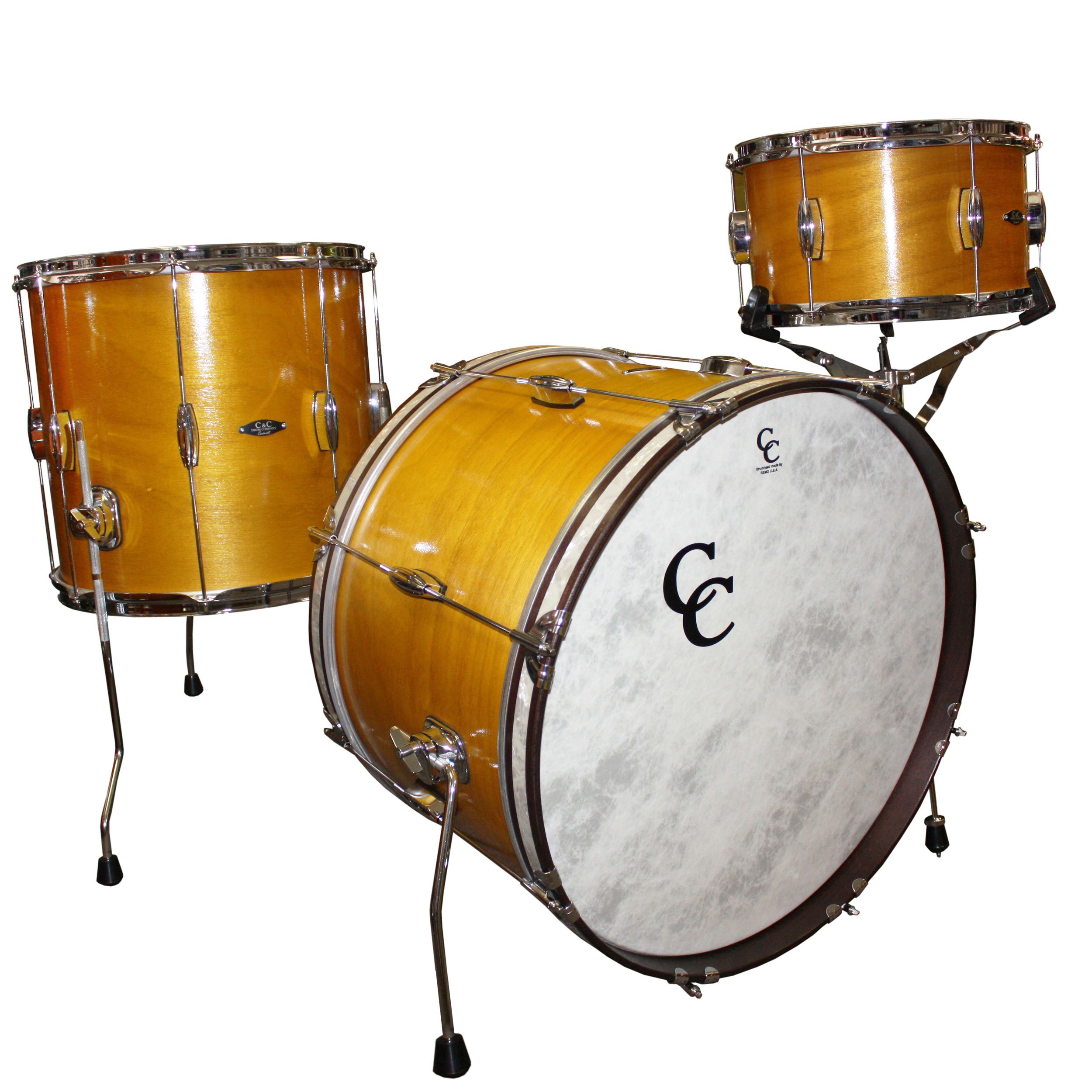 "C&C Drum Player Date Be/Bop 3-Piece Drum Set Shell Pack (20"" Bass, 12/14"" Toms)"