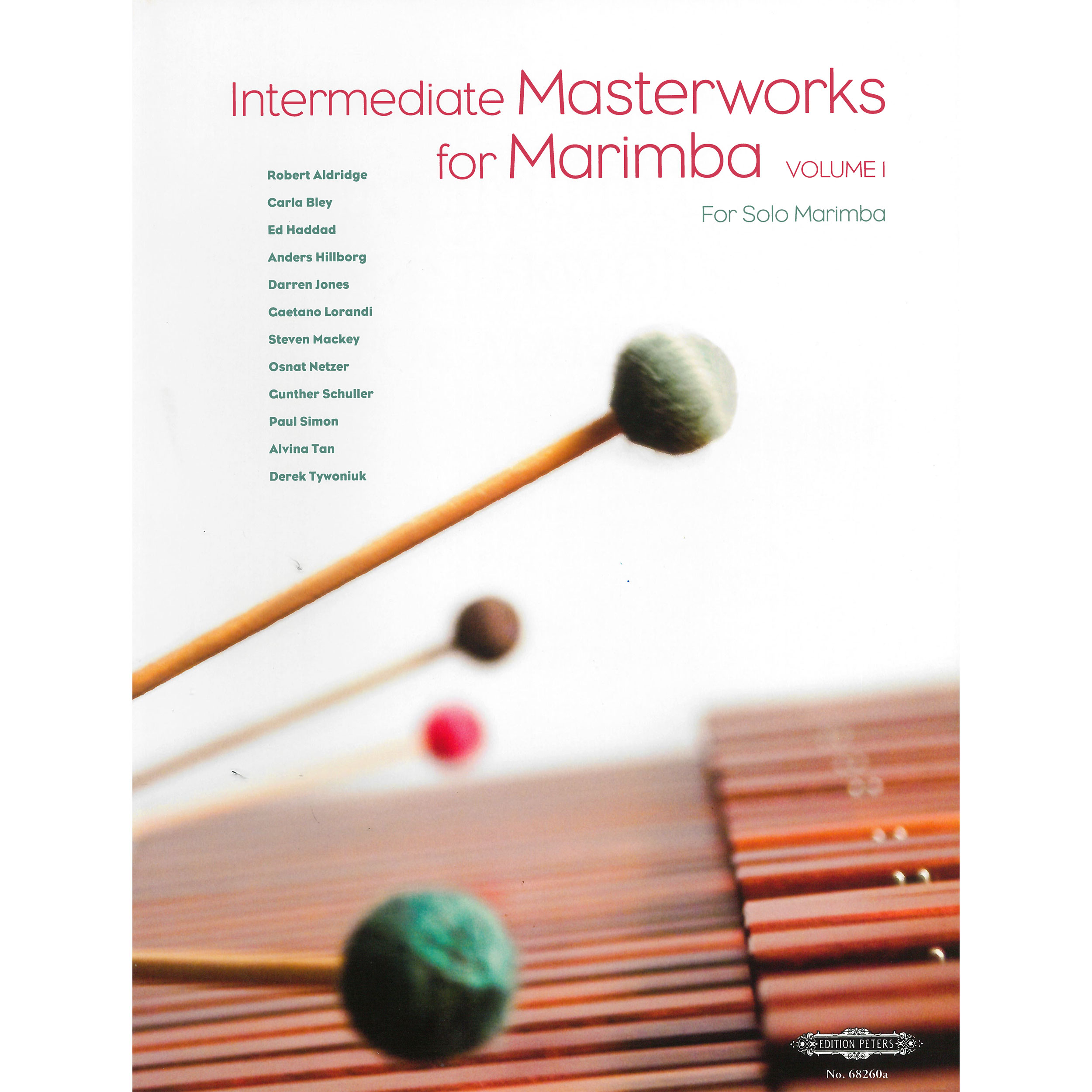 Intermediate Masterworks for Marimba - Volume 1 by Nancy Zeltsman