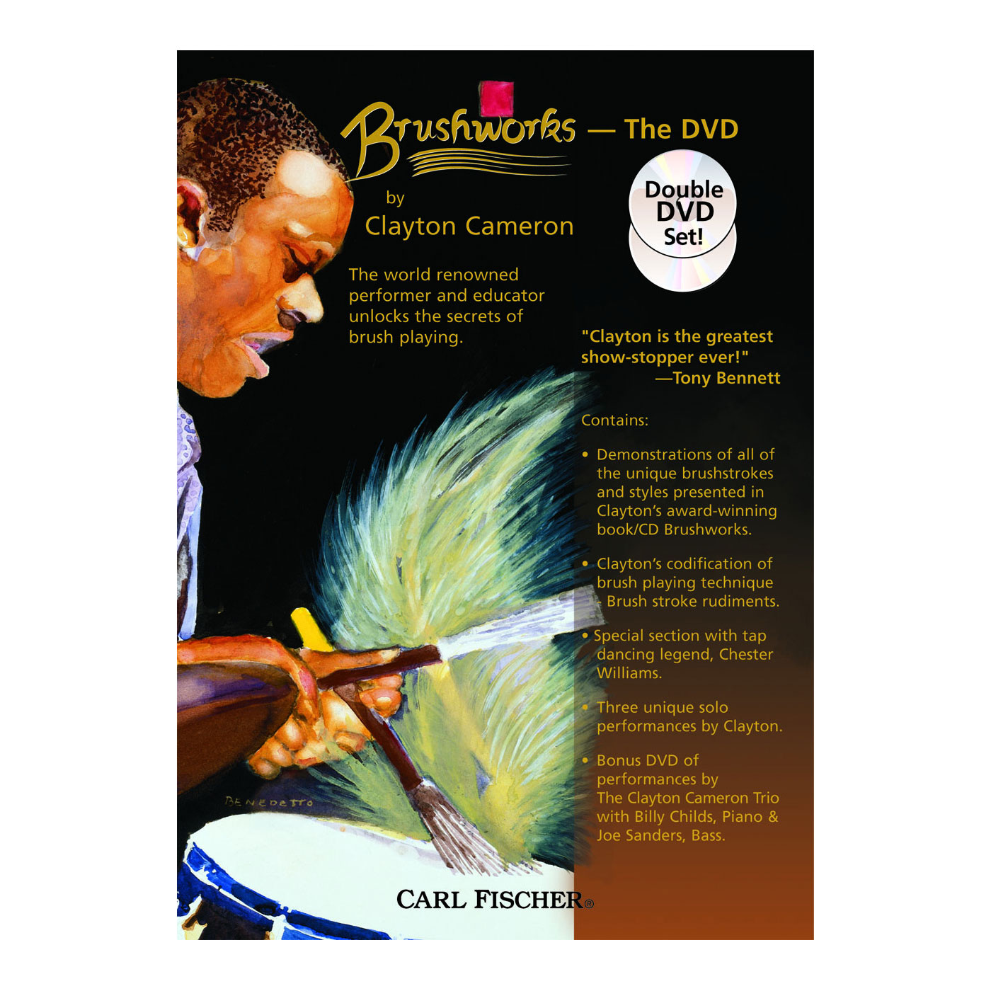 Brushworks: The DVD - Clayton Cameron