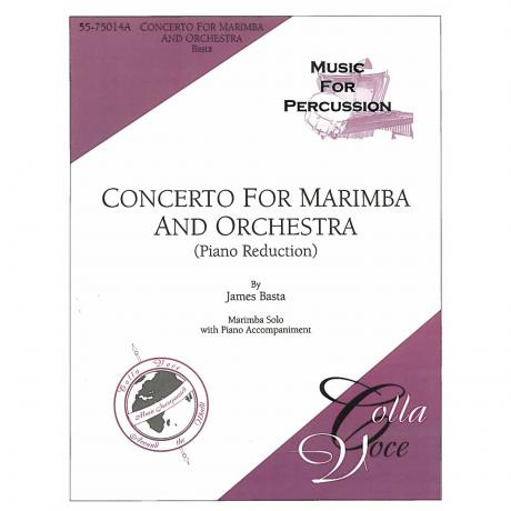 Concerto for Marimba (Piano Reduction) by James Basta