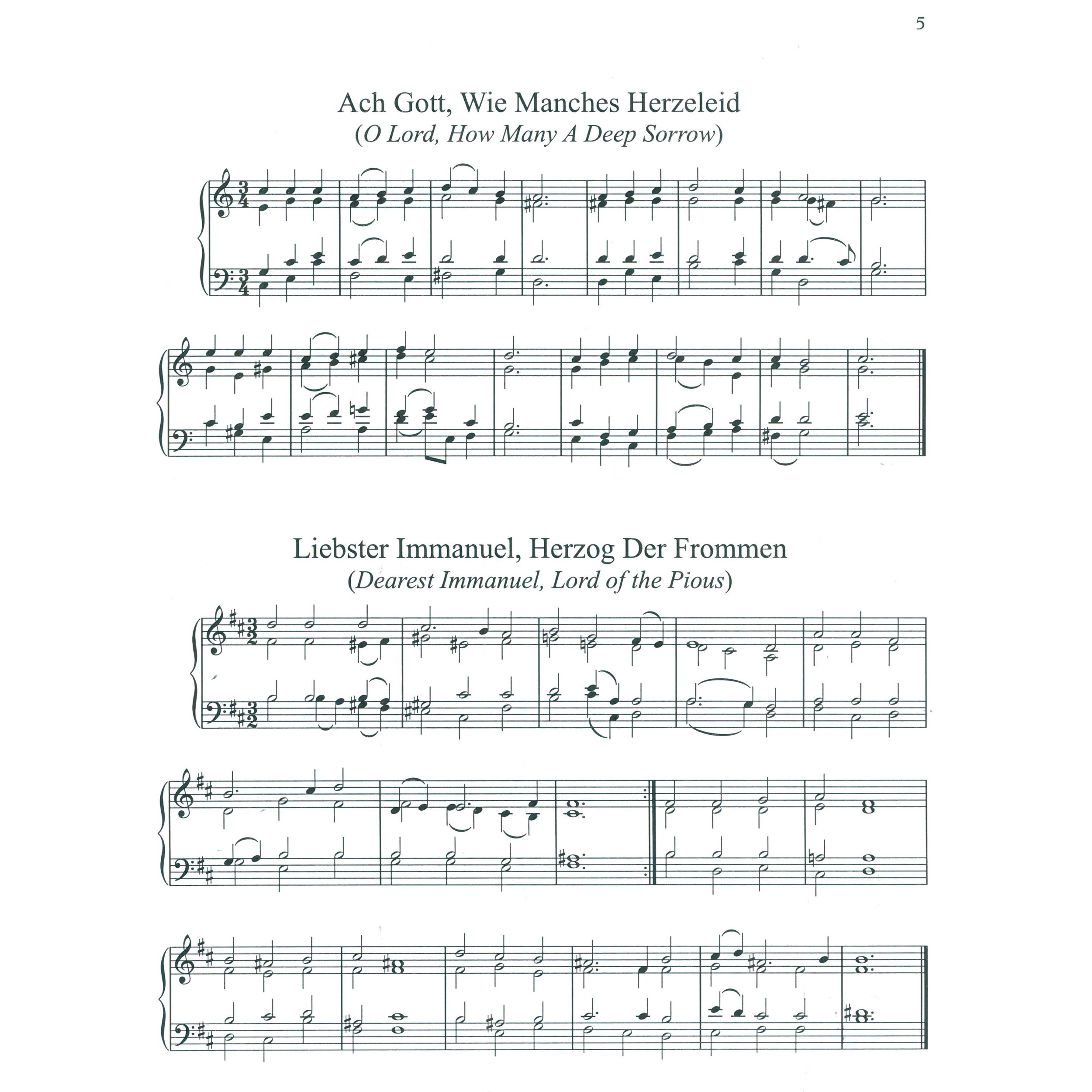 20 Bach Chorales arr. Murray Houllif | Marimba Solo (Colla Voce Music)