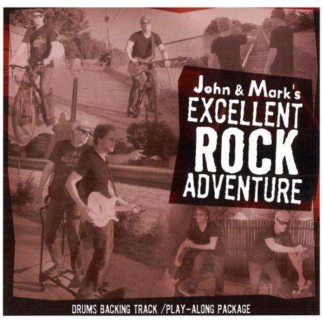 John & Mark's Excellent Rock Adventure Play-Along Book with CD