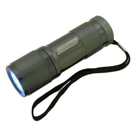 CruzTools SuperBright 9-LED Flashlight