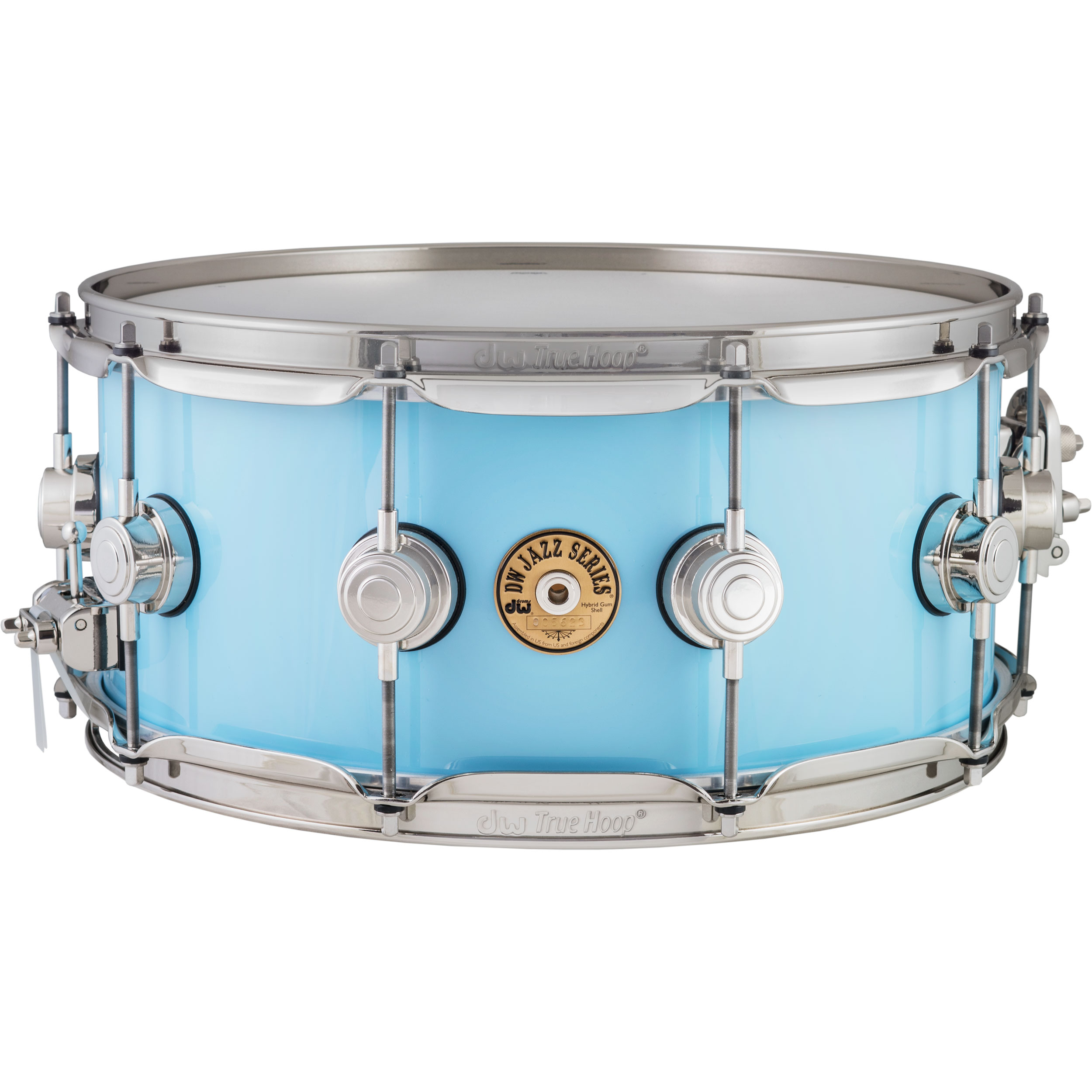 "DW 6"" x 14"" Jazz Series Gum/Maple Snare Drum in Robin"
