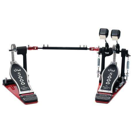 DW DWCP5002TD4 5000 Series Delta III Turbo Double Bass Pedal