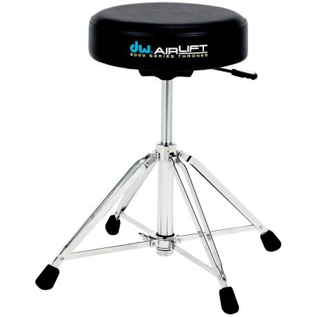 DW 9000 Series Air-Lift Drum Throne