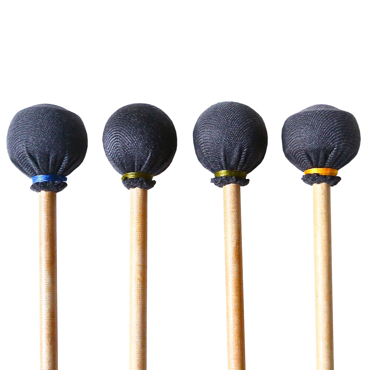 Dragonfly Percussion Custom Graduated Marimba Mallet Set with Rattan Handles (Specify Which Model)