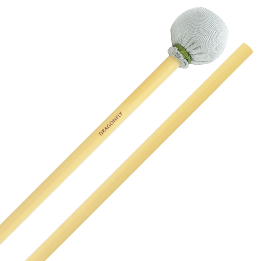 Dragonfly Percussion Medium Suspended Cymbal Mallets with Rattan Handles