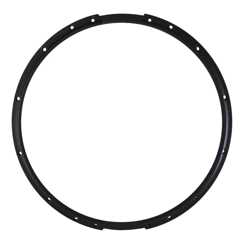 "Dynasty 14"" Marching Snare Bottom Hoop in Black"