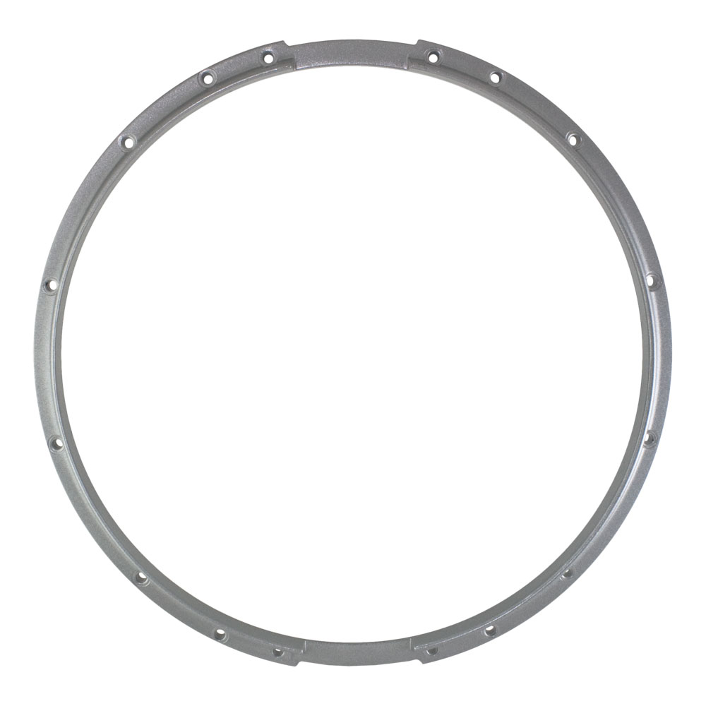 "Dynasty 14"" Marching Snare Bottom Hoop in Silver"