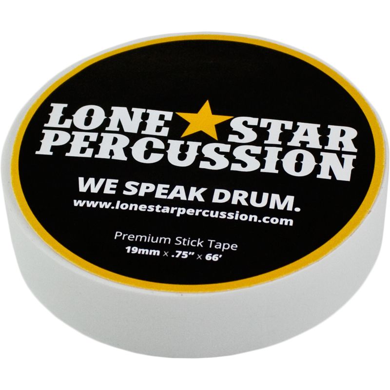"Lone Star Percussion 3/4"" Wide Premium White Drum Stick Tape"