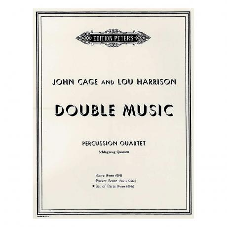 Double Music (Parts) by John Cage and Lou Harrison
