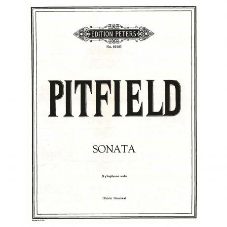 Sonata for Xylophone Solo by Thomas Pitfield