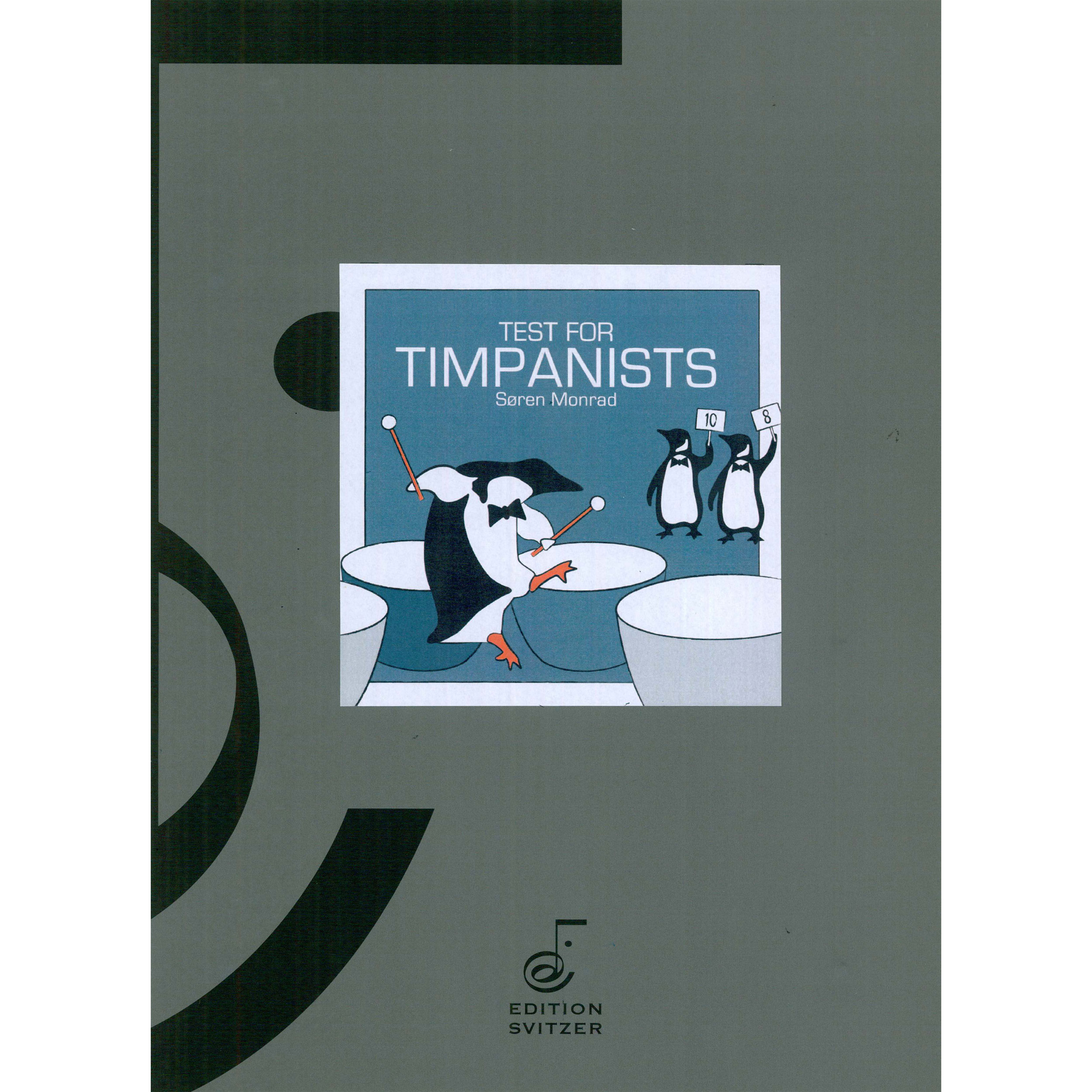 Test for Timpanists by Soren Monrad