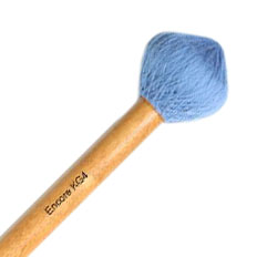 Encore Light Blue Monkey Gong Roller Mallet