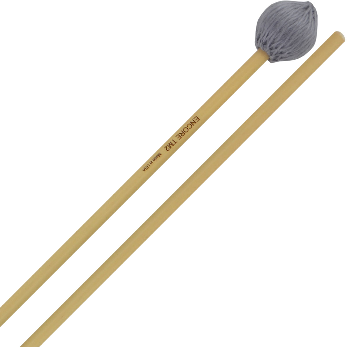 Encore Two Mallet Series General Marimba Mallet with Rattan Handles