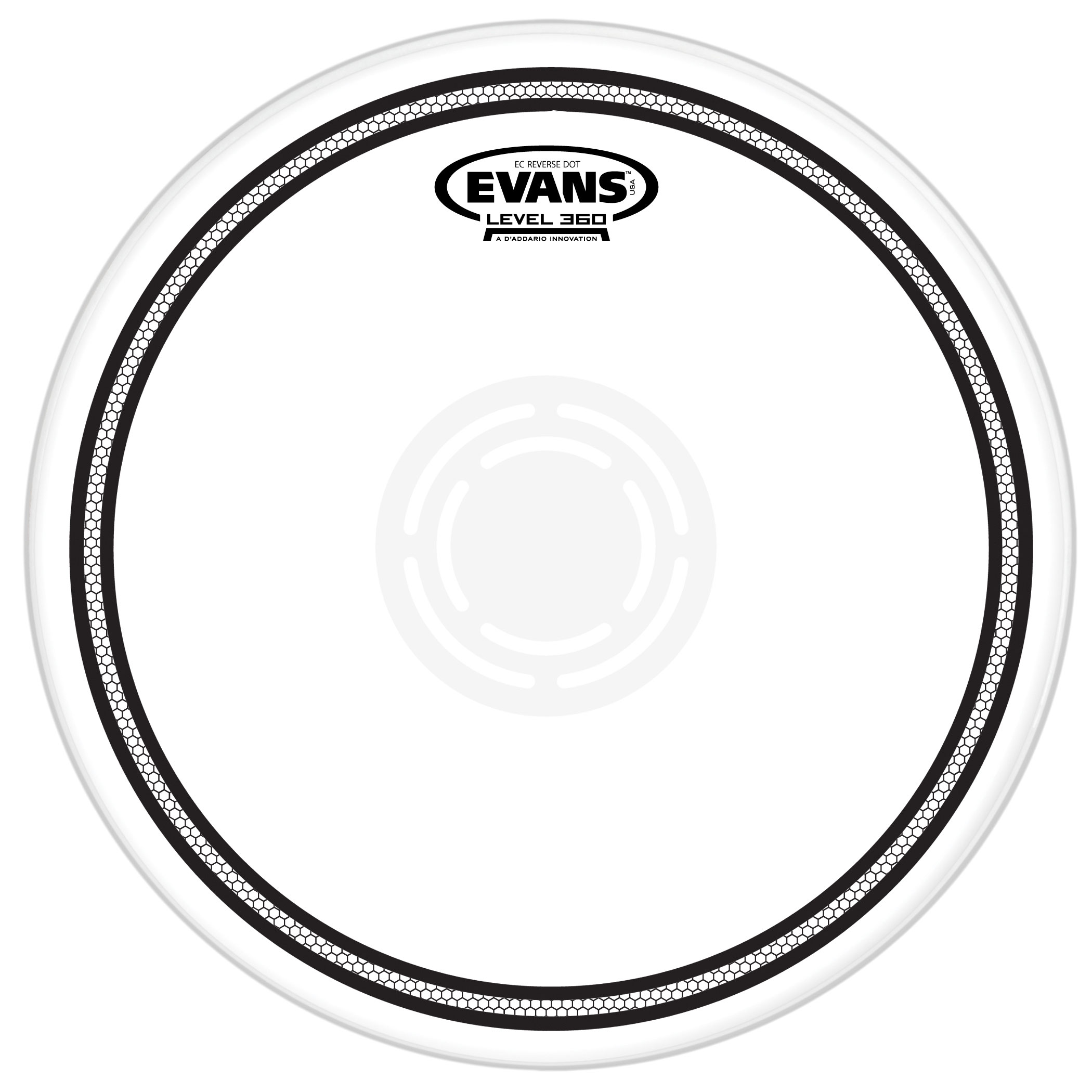 "Evans 14"" EC1 Reverse Dot Snare Top Head"