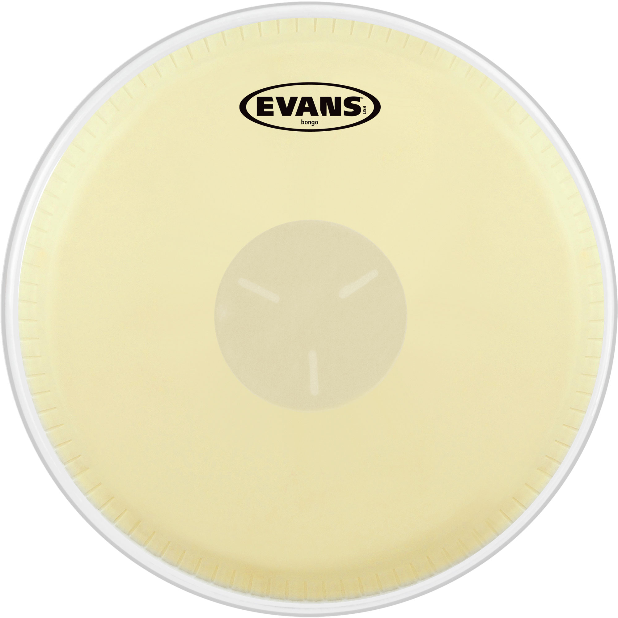 "Evans 8-5/8"" Tri-Center Bongo Head"
