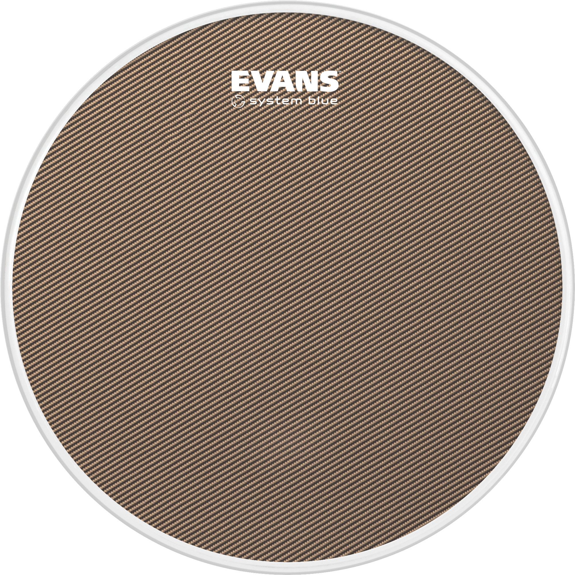 "Evans 13"" System Blue Marching Snare Top Head"