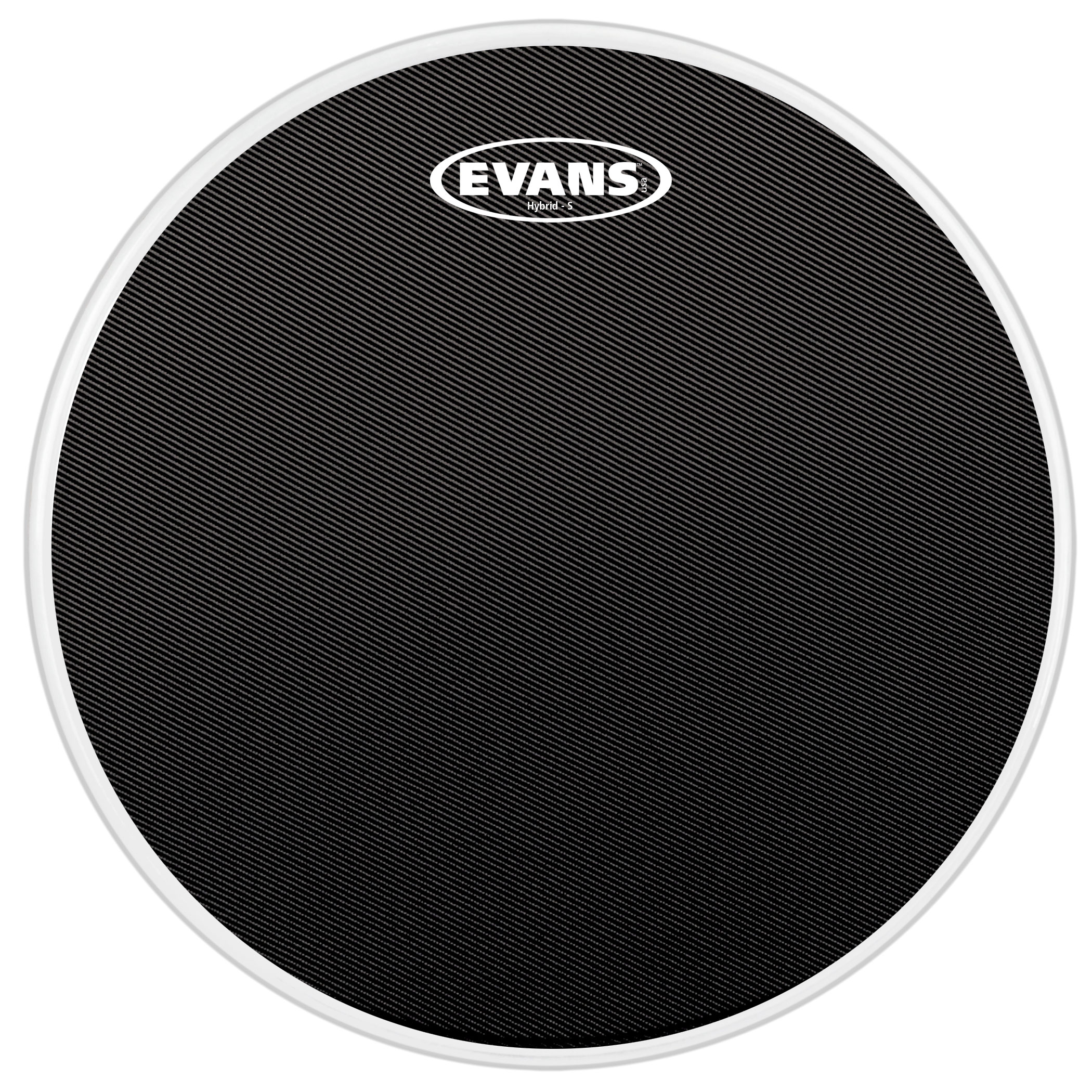"""Evans 14"""" Hybrid-S Marching Snare Top Head"""