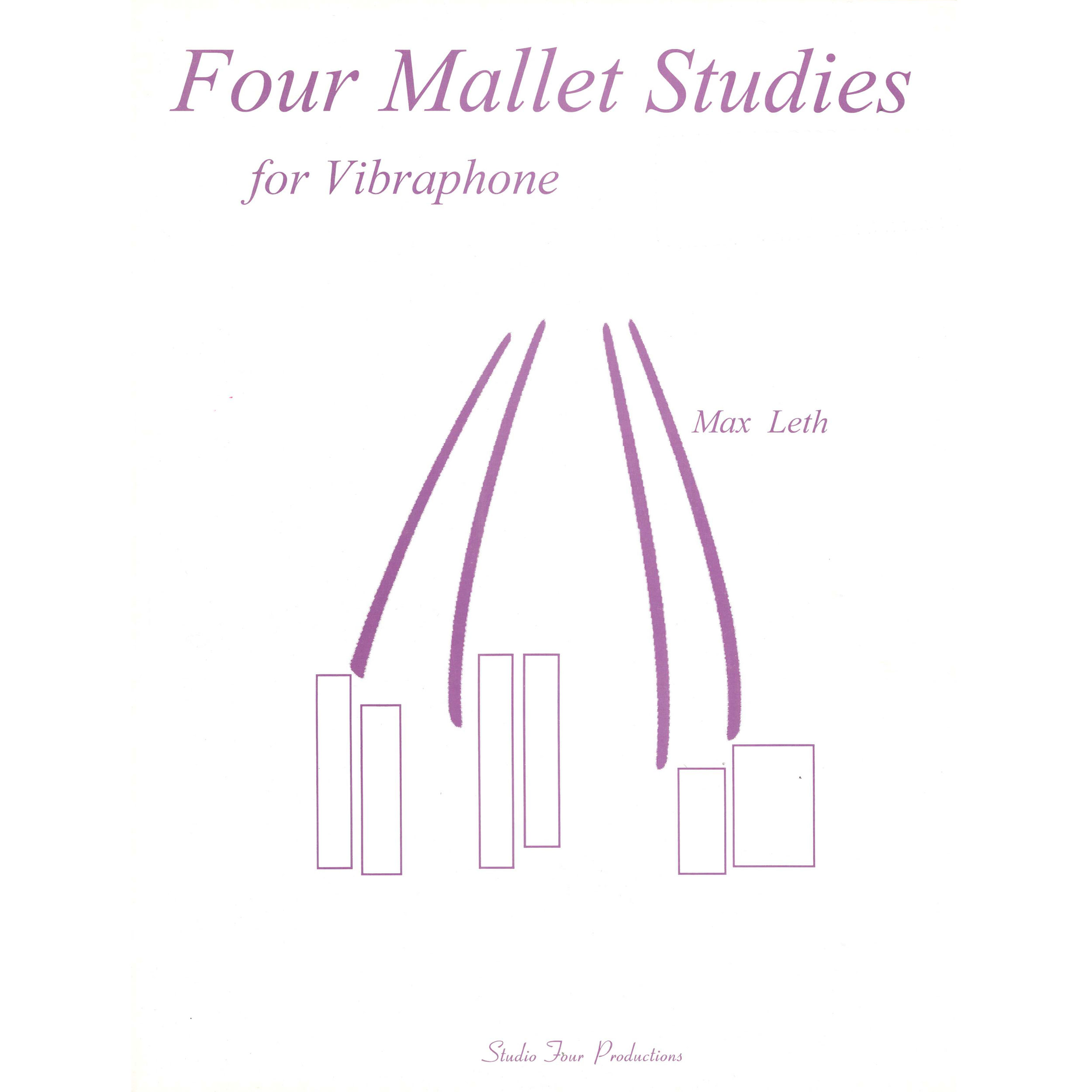Four-mallet Studies for Vibraphone by Max Leth