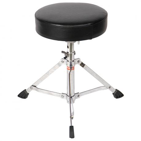 Percussion Plus Single-Braced Junior Drum Throne