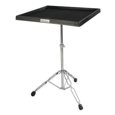 Gibraltar Percussion Table on Double Braced Stand