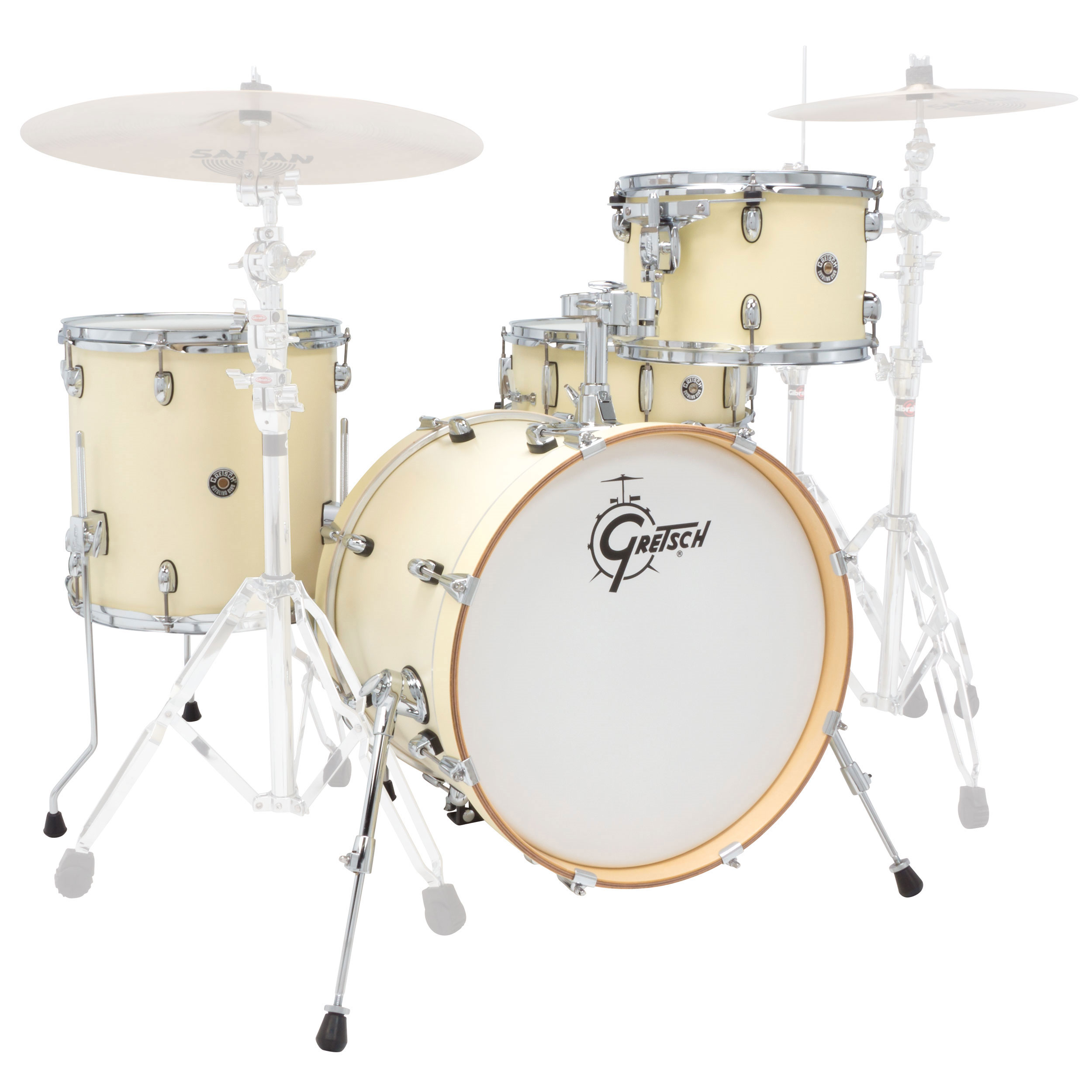 gretsch catalina club classic 4 piece shell pack 20 bass 12 14 toms 14 snare satin ct1 j404. Black Bedroom Furniture Sets. Home Design Ideas