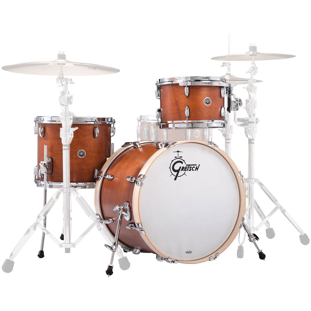 "Gretsch Brooklyn 3-Piece Shell Pack (20"" Bass, 12/14"" Toms)"